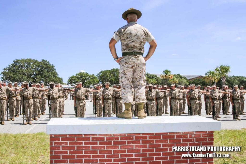 Marine Corps Boot Camp Photos