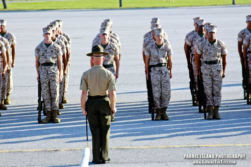 Marine Corps Boot Camp Photos