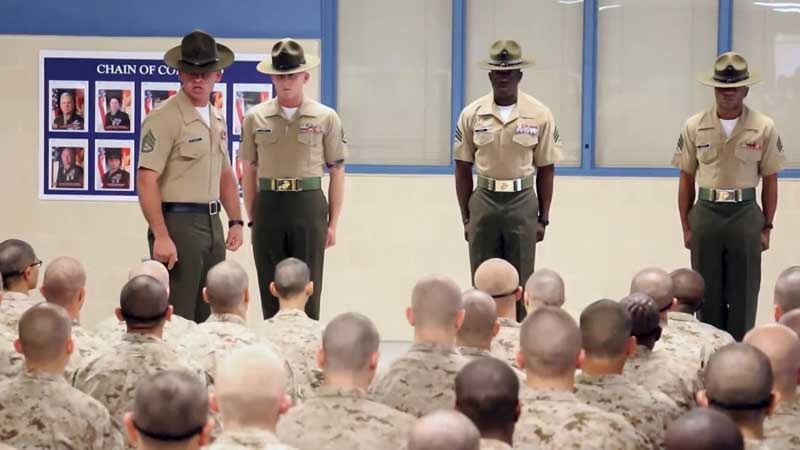 Meeting Drill Instructors